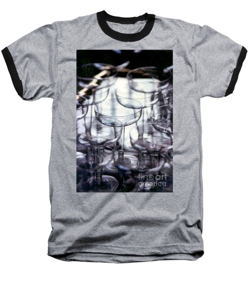 Baseball T-Shirt featuring the photograph New Orleans Toast To The New Year 2017 Abstract by Michael Hoard