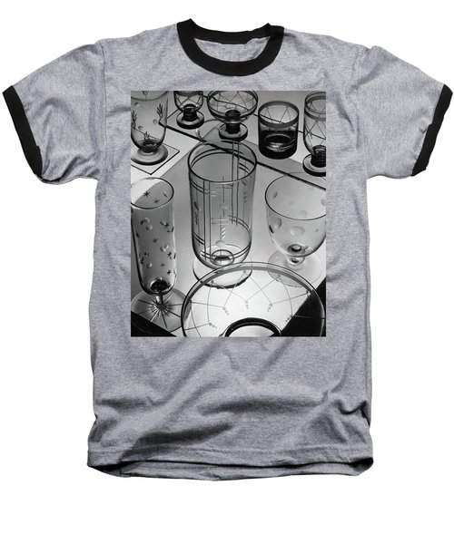 Glasses And Crystal Vases By Walter D Teague Baseball T-Shirt