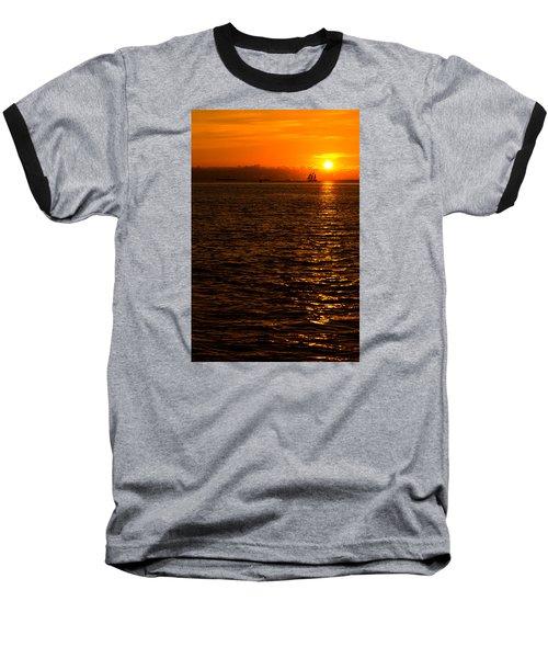 Glimmer Baseball T-Shirt by Chad Dutson