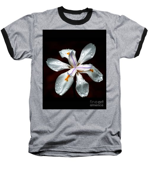 Glisten Baseball T-Shirt by Angela Murray