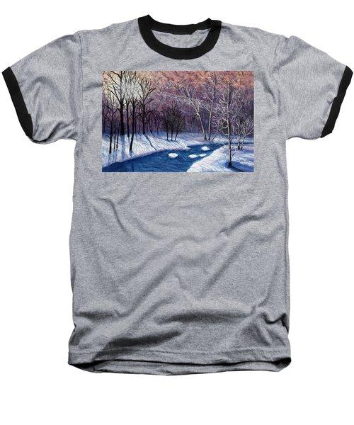Glistening Branches Baseball T-Shirt