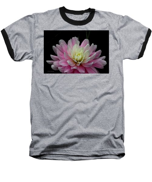 Glistening Dahlia Radiance Baseball T-Shirt