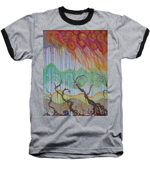 Climate Change, The Final Chapter Baseball T-Shirt by Douglas Fromm