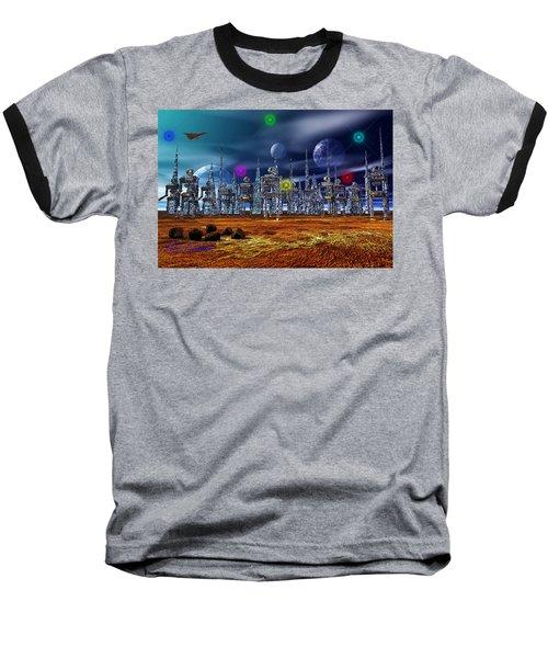 Baseball T-Shirt featuring the photograph Gloeroxz by Mark Blauhoefer