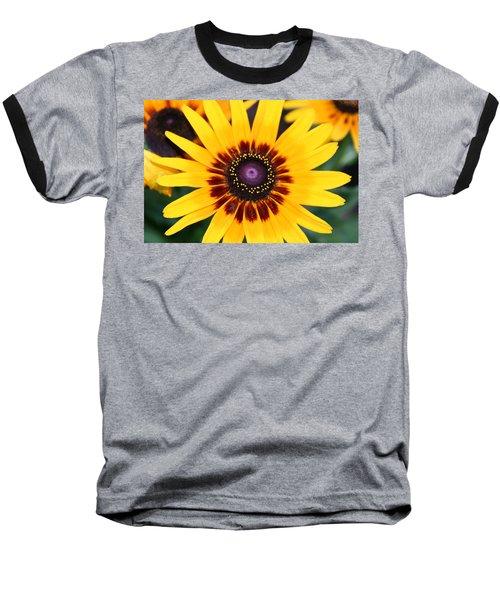 Gloriosa Daisy Baseball T-Shirt by Denyse Duhaime