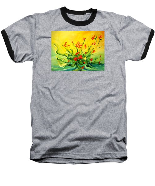 Glorious Baseball T-Shirt by Teresa Wegrzyn