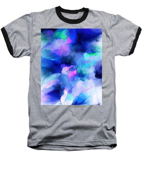 Baseball T-Shirt featuring the digital art Glory Morning by David Lane