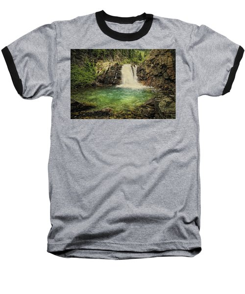 Baseball T-Shirt featuring the photograph Glory Pool by Priscilla Burgers