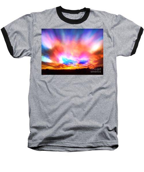 Glory Sunset Baseball T-Shirt