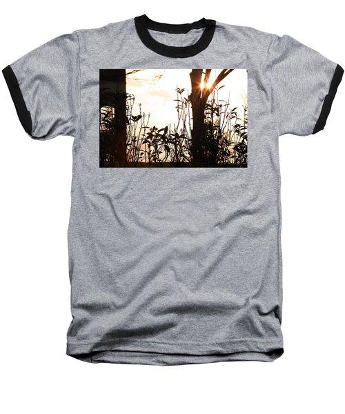 Glowing Landscape Baseball T-Shirt