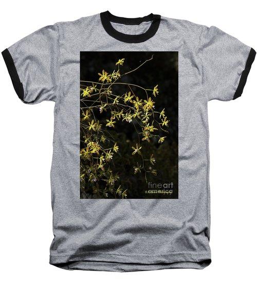 Glowing Orchids Baseball T-Shirt