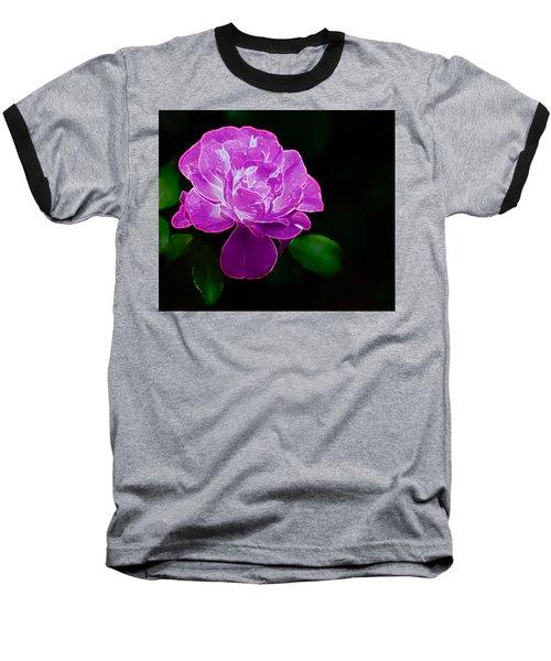 Glowing Rose II Baseball T-Shirt