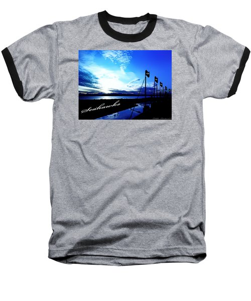 Baseball T-Shirt featuring the photograph Go Seahawks by Eddie Eastwood