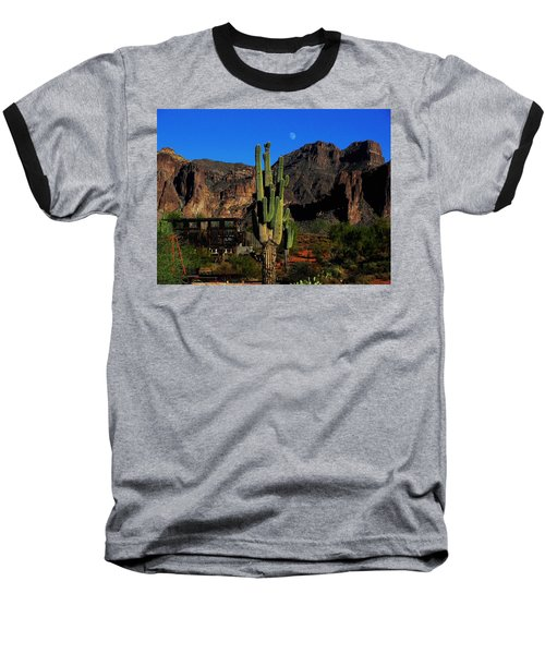 Go West Young Man Baseball T-Shirt by Natalie Ortiz