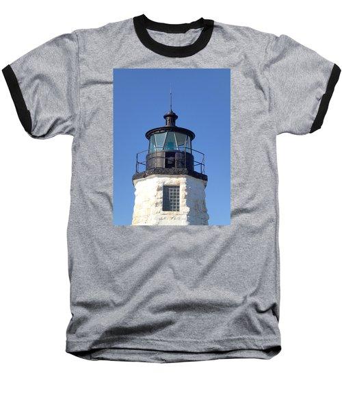 Goat Island Lighthouse Baseball T-Shirt