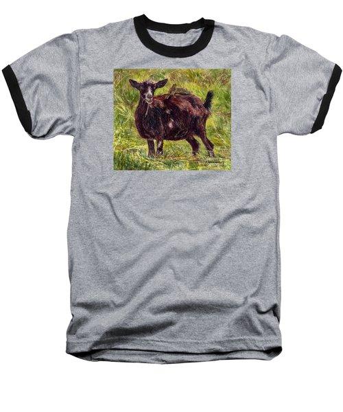 Goat Piggybackers Baseball T-Shirt