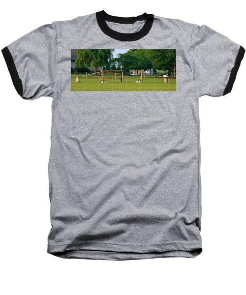 Goat Playground Baseball T-Shirt
