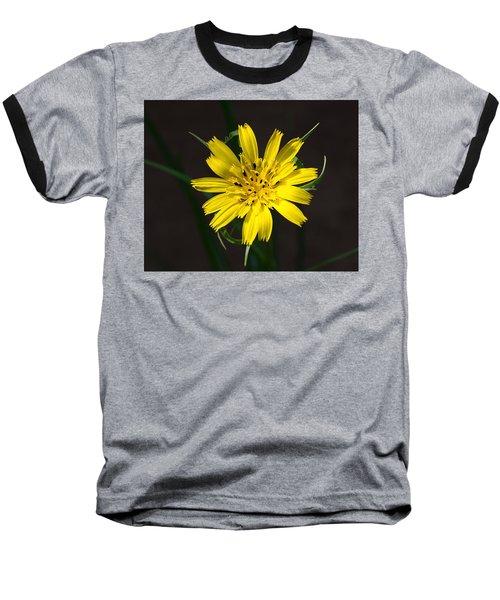Goats Beard Flower Baseball T-Shirt
