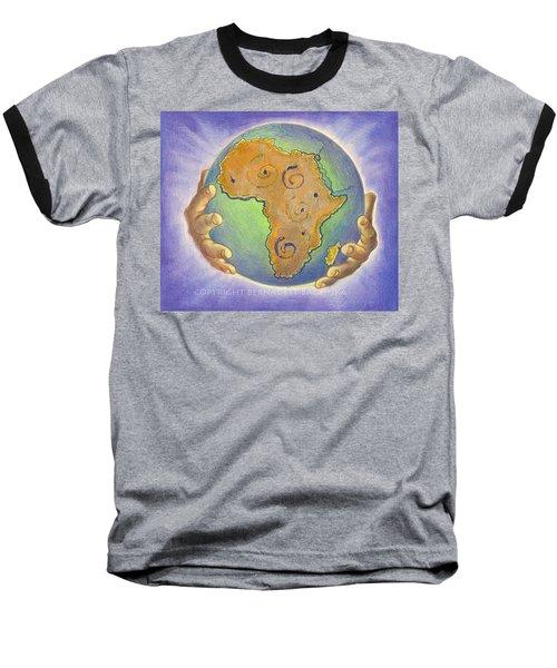 God Bless Africa Baseball T-Shirt