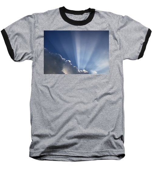 God Rays Baseball T-Shirt