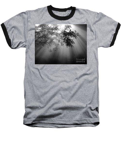 God Rays Baseball T-Shirt by Douglas Stucky