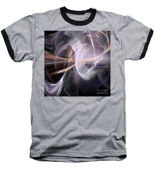 Baseball T-Shirt featuring the digital art God Speed by Margie Chapman