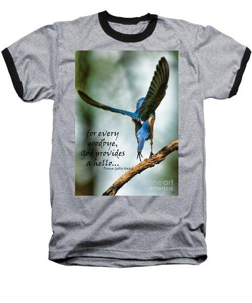 God Will Provide A Hello Baseball T-Shirt