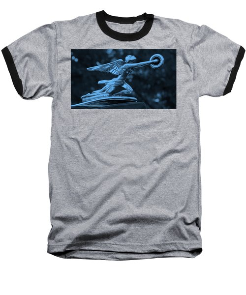 Baseball T-Shirt featuring the photograph Goddess Hood Ornament  by Patrice Zinck