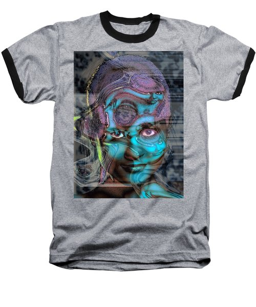 Baseball T-Shirt featuring the photograph Goddess Of Love And Confusion by Richard Thomas