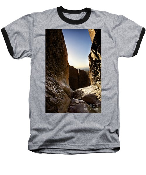 God's Eye View Baseball T-Shirt