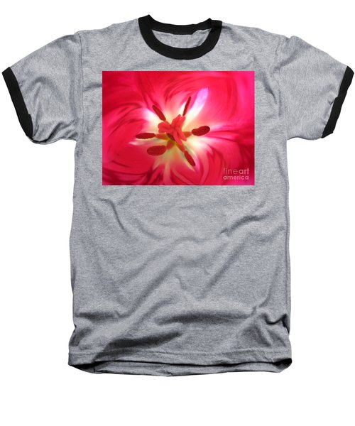 God's Floral Canvas 1 Baseball T-Shirt