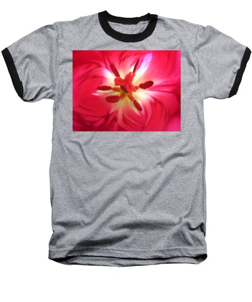 God's Floral Canvas 2 Baseball T-Shirt