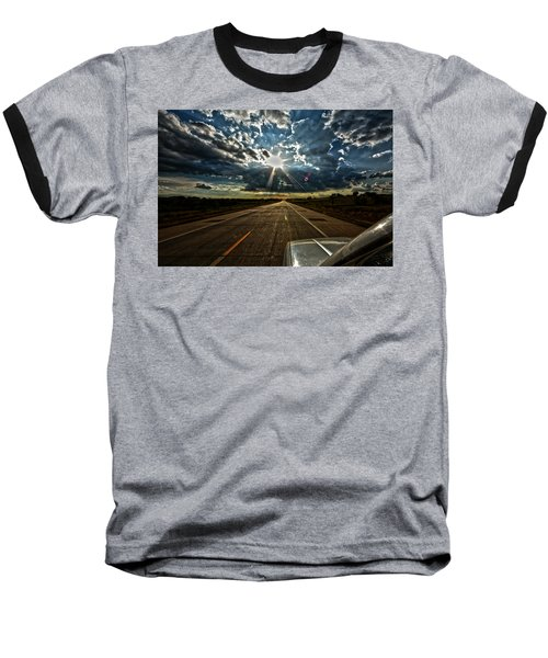 Baseball T-Shirt featuring the photograph Going Home by Brian Duram