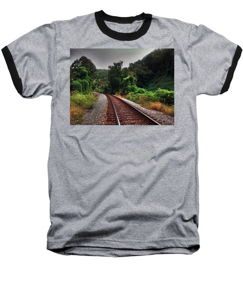 Going Somewhere Baseball T-Shirt by Janice Spivey