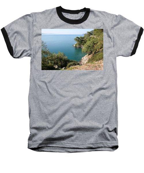 Baseball T-Shirt featuring the photograph Gokova Korfezi Akyaka by Tracey Harrington-Simpson