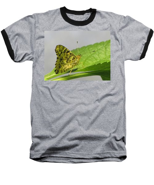 Gold And Green  Baseball T-Shirt