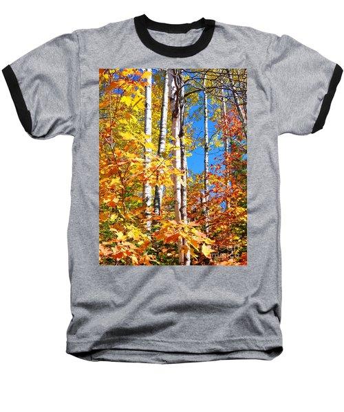 Gold Autumn Baseball T-Shirt