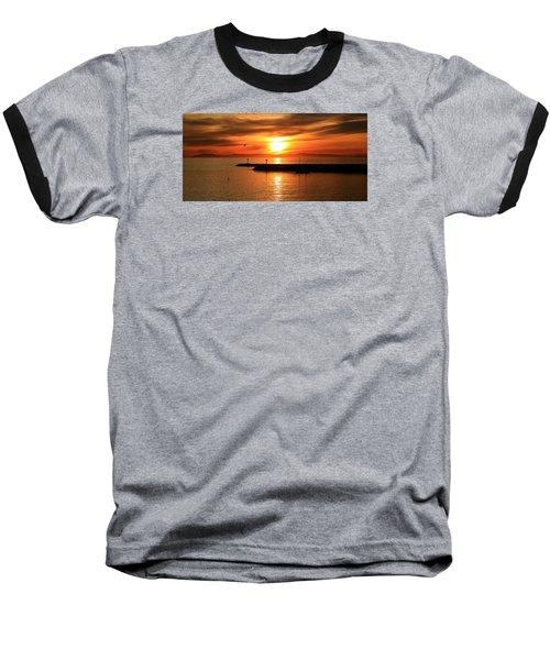 Gold Corona  Baseball T-Shirt