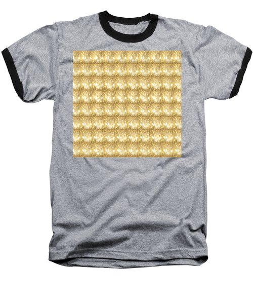 Baseball T-Shirt featuring the photograph Gold Sparkle Tone Pattern Unique Graphics by Navin Joshi