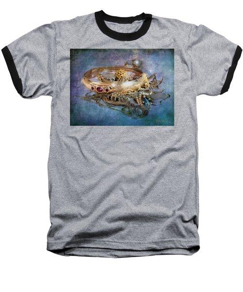 Gold Treasure Baseball T-Shirt