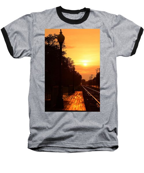 Golden Age Of Rails Baseball T-Shirt