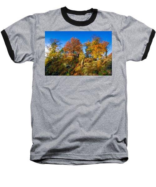 Golden Autumn On Neurathen Castle Baseball T-Shirt