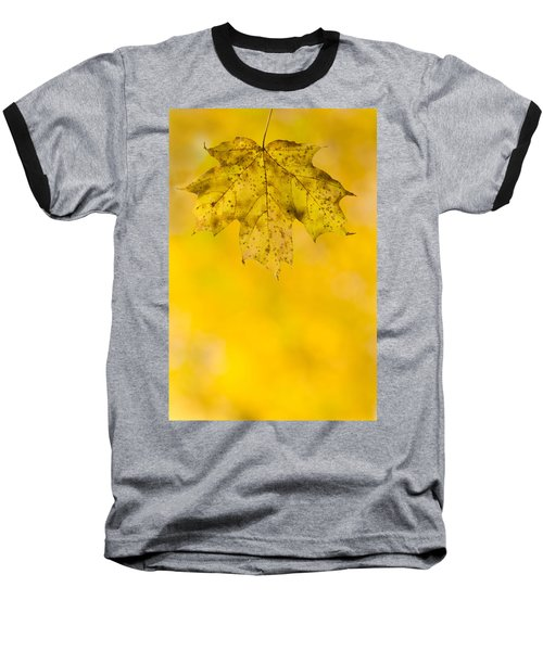 Baseball T-Shirt featuring the photograph Golden Autumn by Sebastian Musial