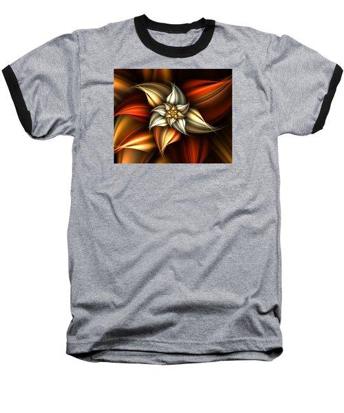 Golden Beauty Baseball T-Shirt by Ester  Rogers