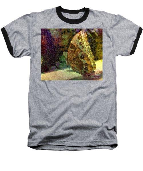 Golden Butterfly Baseball T-Shirt