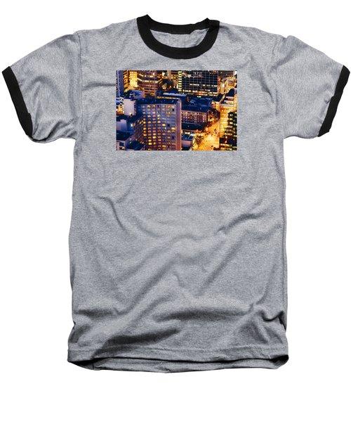 Golden Cityscape Vancouver Mcccl Baseball T-Shirt