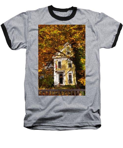 Golden Colonial Baseball T-Shirt by Joann Vitali