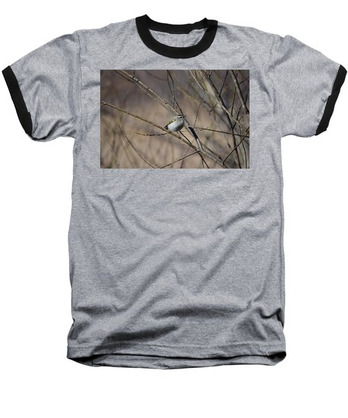 Baseball T-Shirt featuring the photograph Golden-crowned Kinglet by James Petersen