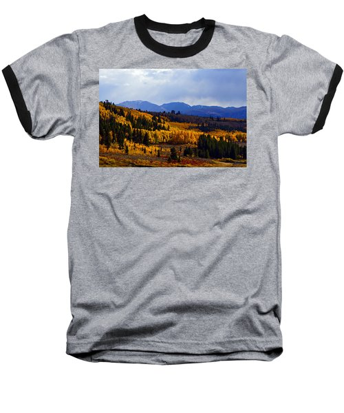 Golden Fourteeners Baseball T-Shirt