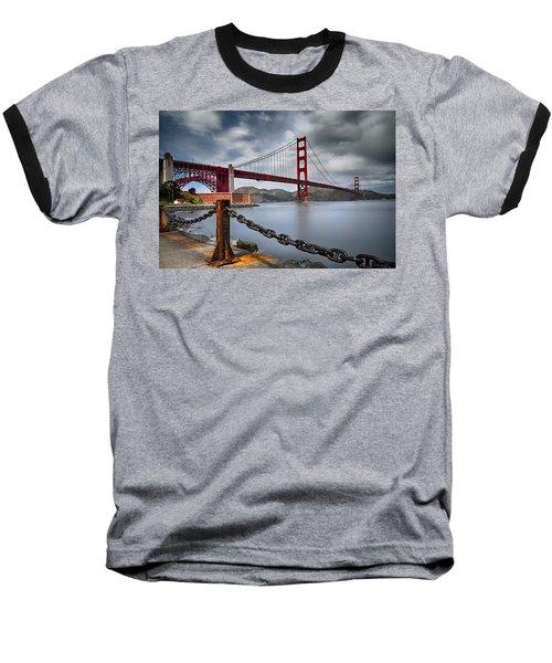 Golden Gate Bridge Baseball T-Shirt